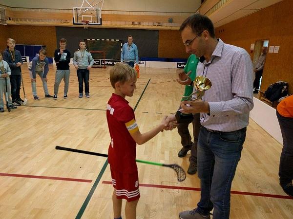 Rafal Stankevič atsiima čempionų taurę